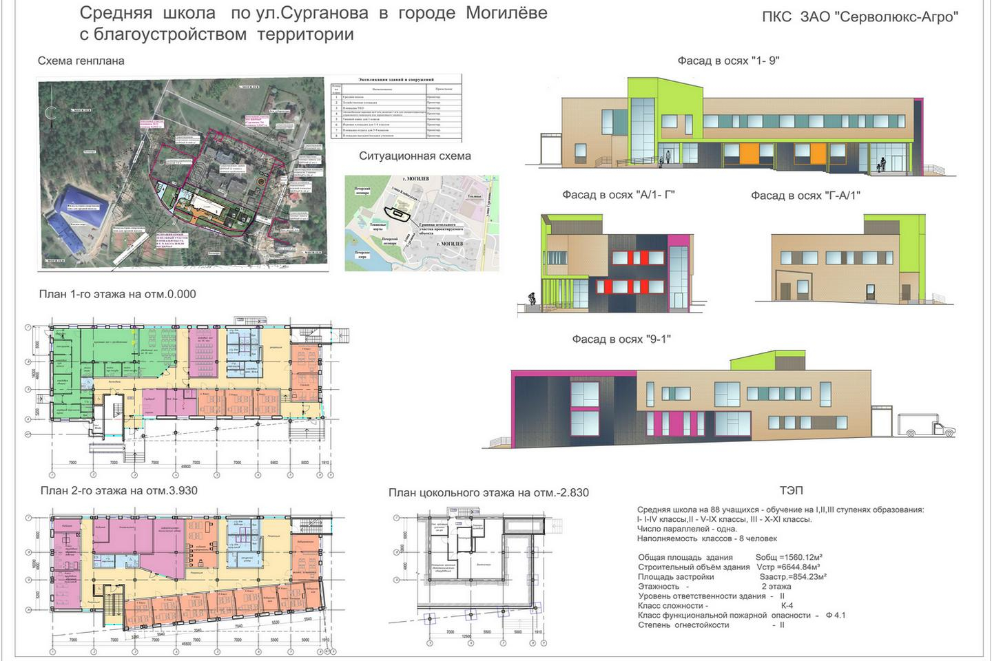 Элементы проекта с сайта mogilev.gov.by